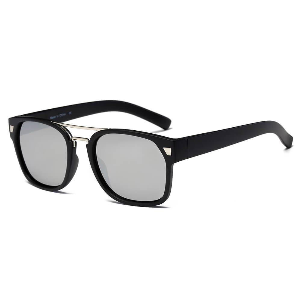 HINDMARSH | Men's Classic Retro Square Frame Fashion Sunglasses by Cramilo Eyewear
