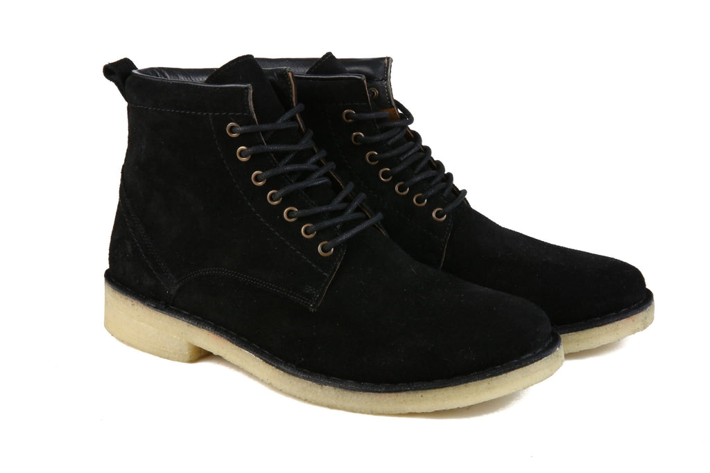 Hound & Hammer The Hunter | Black Ankle Boots for Men