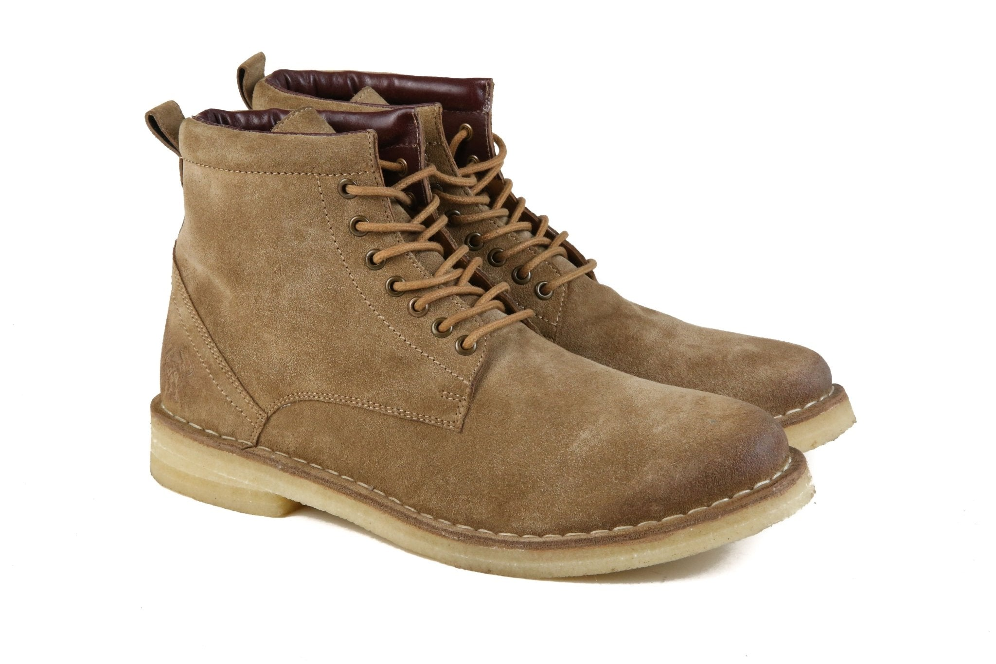 "Hound & Hammer ""The Hunter"" Men's Sand Leather Urban Hiking Boots"