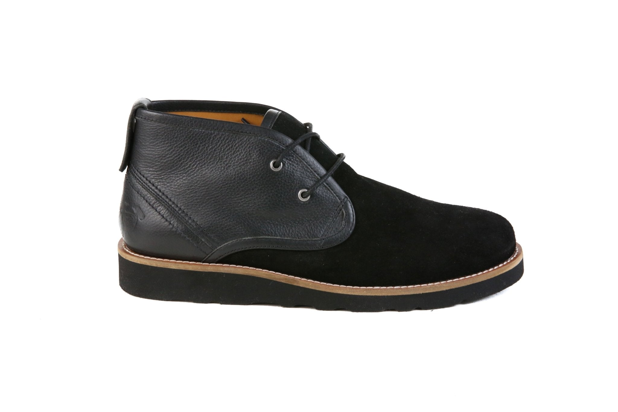 Hound & Hammer The Nolan | Black Ankle Boots for Men