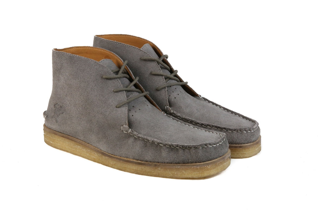 Hound & Hammer The Wallace | Grey Ankle boots for Men