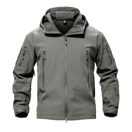 MAGCOMSEN Men's Softshell Waterpoof Shark Skin Tactical Jacket
