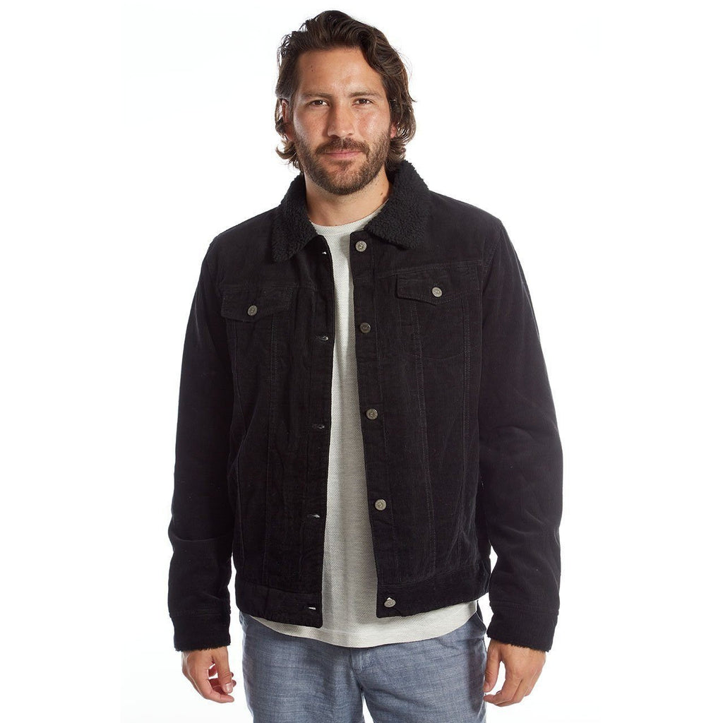 Men's Marlon Corduroy Aviator Jacket by PX Clothing - Benn Burry
