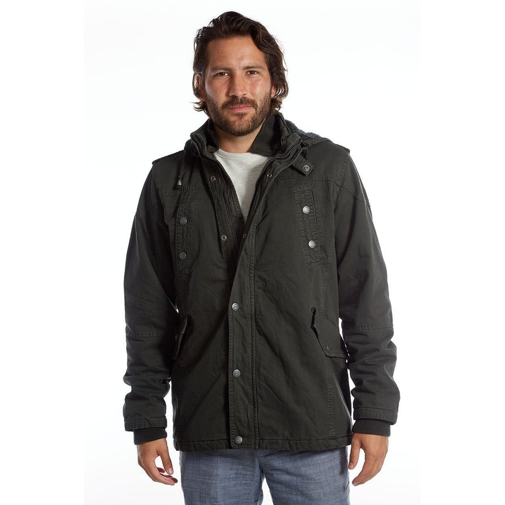 Men's Zach Long Cotton Jacket by PX Clothing - Benn Burry