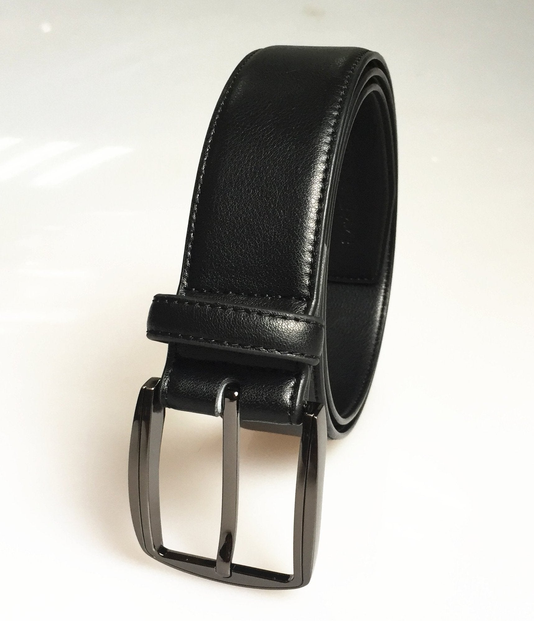 Polished Gunmetal Belt - Benn~Burry