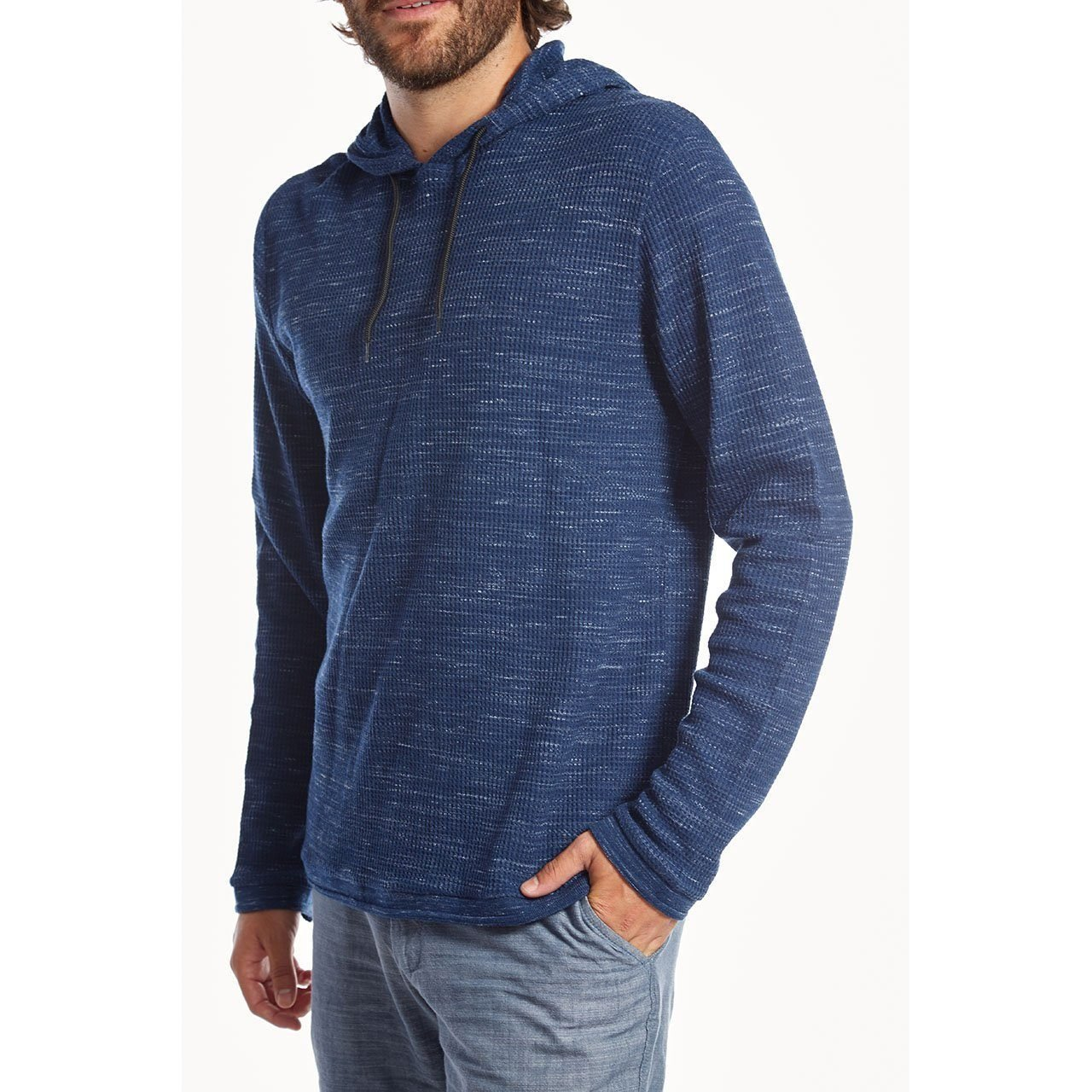 PX Clothing Men's Andres Waffle Pullover