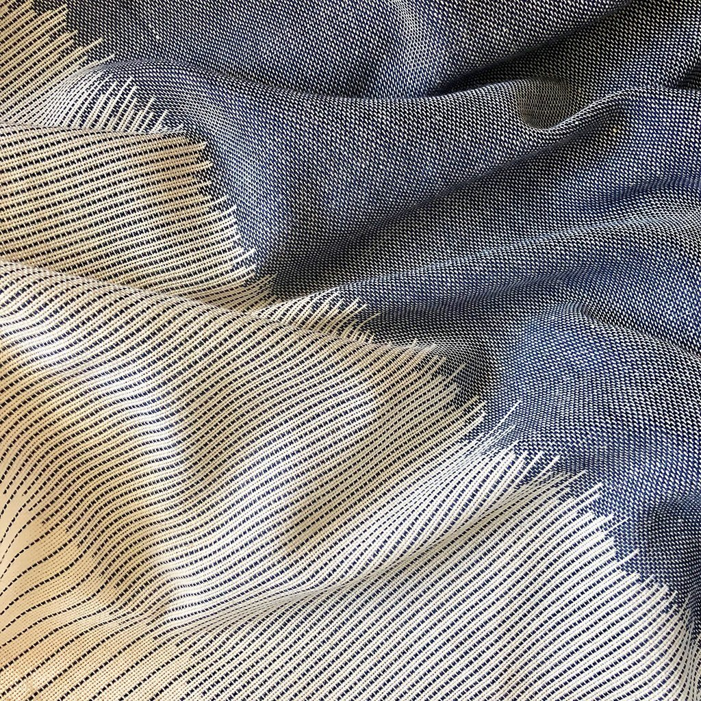Women's Striped Organic Cotton Scarf