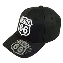 Load image into Gallery viewer, US Route 66 Embroidery Hat Adjustable Mother Road Baseball Cap