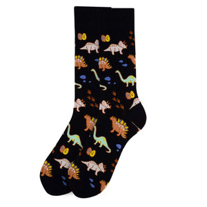 Men's Crew Cut Socks ~ Fun & Unique Design Novelty Socks ~ One Size Fits Most