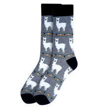 Load image into Gallery viewer, Men's Crew Cut Socks ~ Fun & Unique Design Novelty Socks ~ One Size Fits Most
