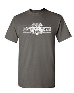 Route 66 Get Your Kicks T-Shirt The Mother Road American Highway Mens Tee Shirt