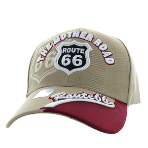 Black Eagles The Mother Road Route 66 Baseball Hat Cap