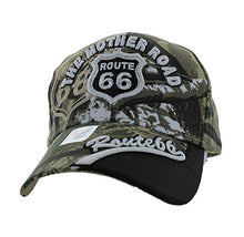 Load image into Gallery viewer, Black Eagles The Mother Road Route 66 Baseball Hat Cap
