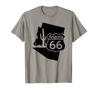Route 66 Sign Arizona State T-Shirt