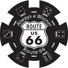 Load image into Gallery viewer, Route 66 Poker Chips- Set of 100