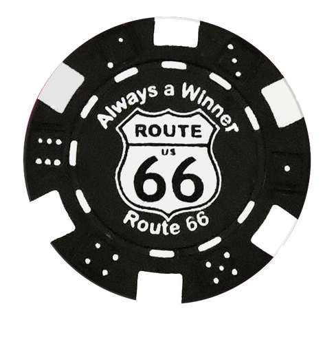 Route 66 Branded Chip Magnet
