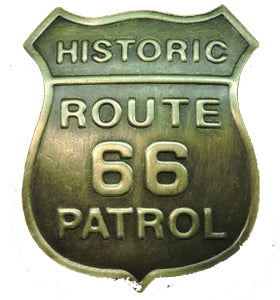 Historic Route 66 Patrol Badge