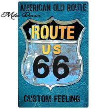 Load image into Gallery viewer, [ Mike86 ] Route 66 Superior Speedway Retro Metal Poster Home Public Decor Vintage Wall art Craft 20*30 CM Mix Items SL-8821