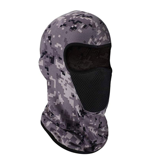 Premium UV Protection Balaclava Digital Grey Camo