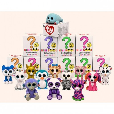 TY Beanie Babies Mini Boos Collectibles Series 2