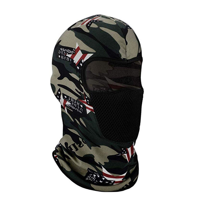 Premium UV Protection Balaclava USA Camo