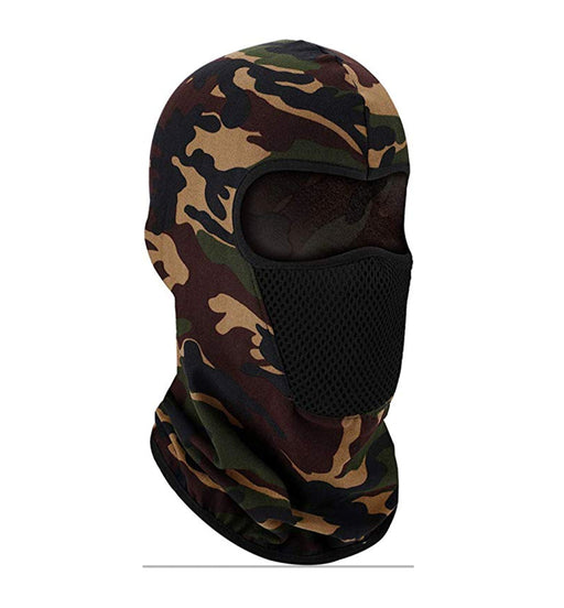 Premium UV Protection Balaclava Woods Camo