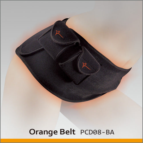 Thermalution Heated Abdomen Belt (Orange Belt)