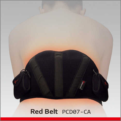 Thermalution Heated Lumbar Belt (Red Belt)