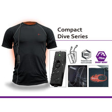 Load image into Gallery viewer, Thermalution Compact Dive Series Heated Undersuit - 70m/230ft