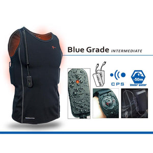 Thermalution Blue Grade Power Heated Diving Undersuit - 50m/165ft
