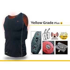 Thermalution Yellow Grade Plus Power Heated Diving Undersuit - 100m/300ft