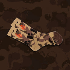 Free Camo Socks on orders $125+ cart