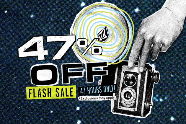Flash Sale Sitewide! 2 Days Only! Use Code: FLASH47