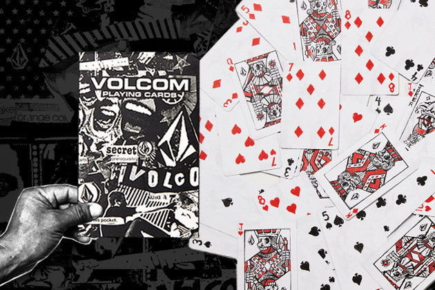 Today Only! Free Volcom Playing Cards with Every Order!
