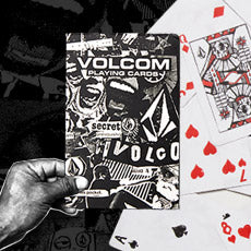 FREE VOLCOM PLAYING CARDS ON ORDERS $99+