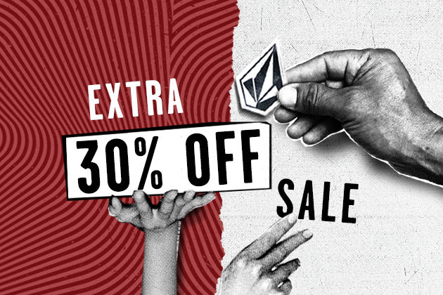 LAST DAY! EXTRA 30% OFF SALE!