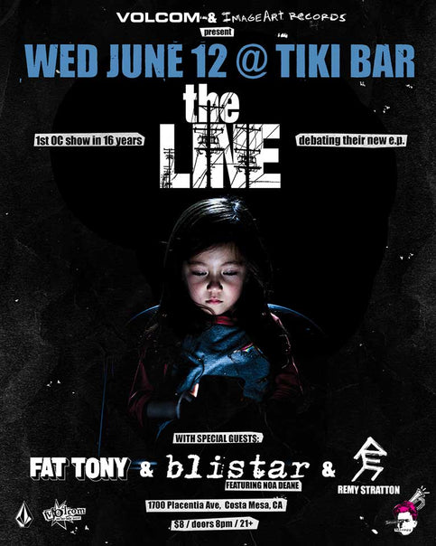 theLINE at Tiki Bar June 12, First OC Show in 16 Years