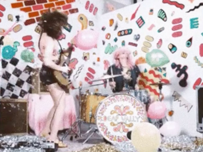 Check Out Deap Vally's New Music Video For Their Song 'Julian'