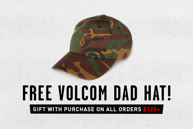 Free Camo Dad Hat On Orders $125+