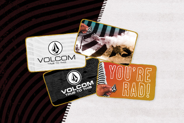 VOLCOM GIFT CARDS
