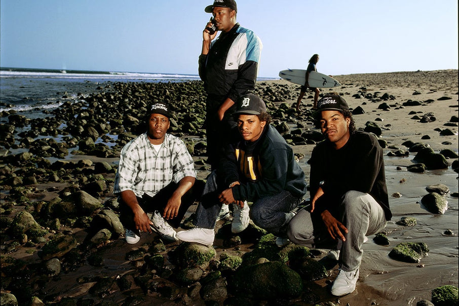 Behind the lens on N.W.A.'s 1989 Malibu beach photoshoot with photographer Timothy White