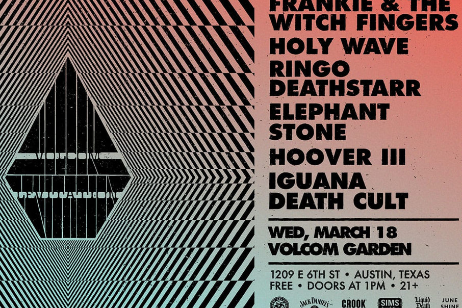 Volcom X Levitation Launch Party - March 18 - Austin, TX