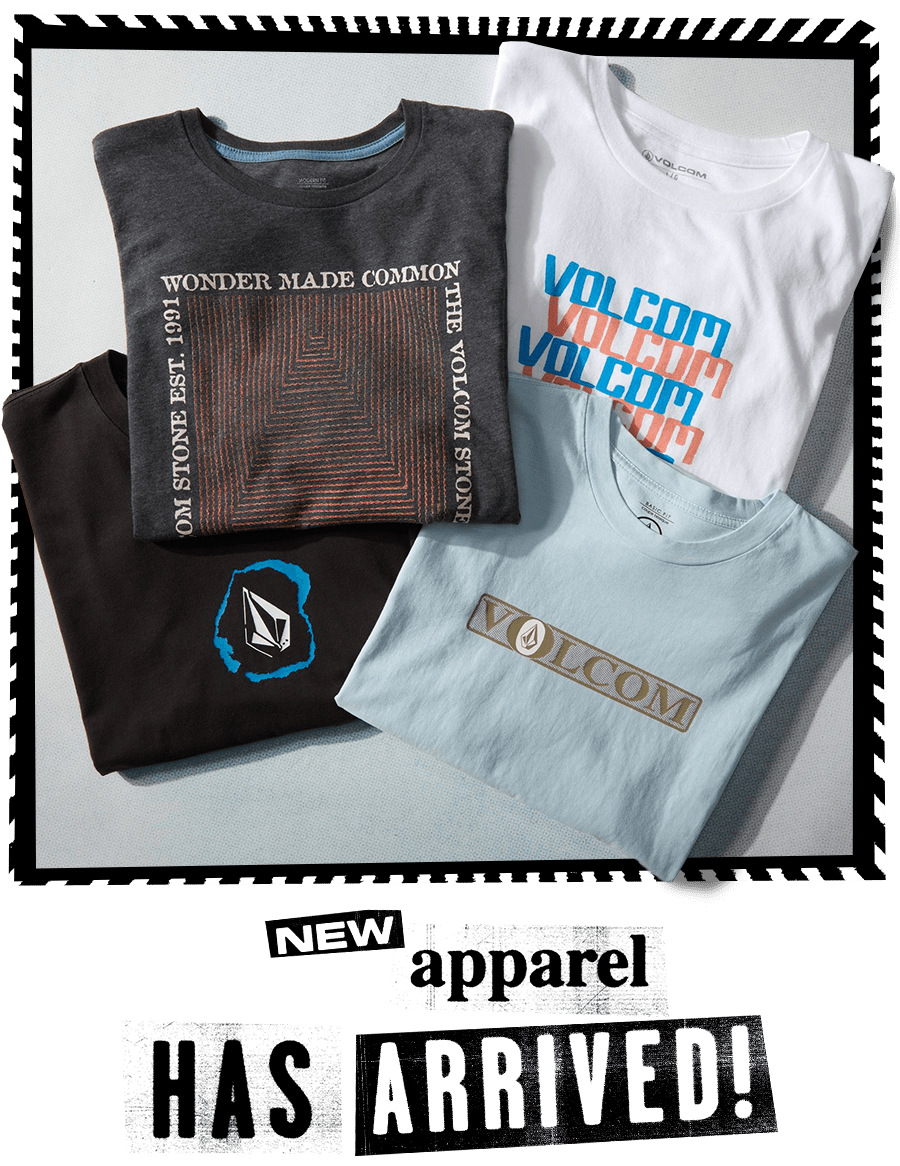 new apparel has arrived