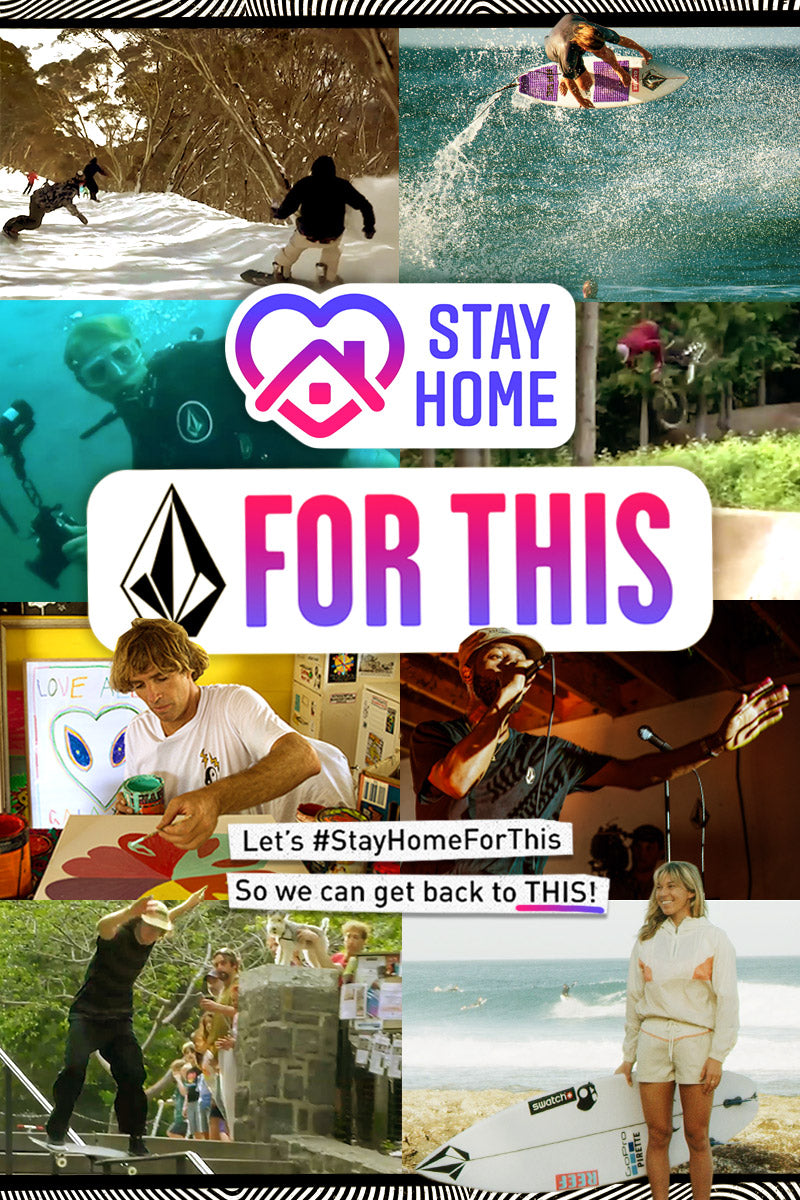 Join the cause and #StayHomeForThis