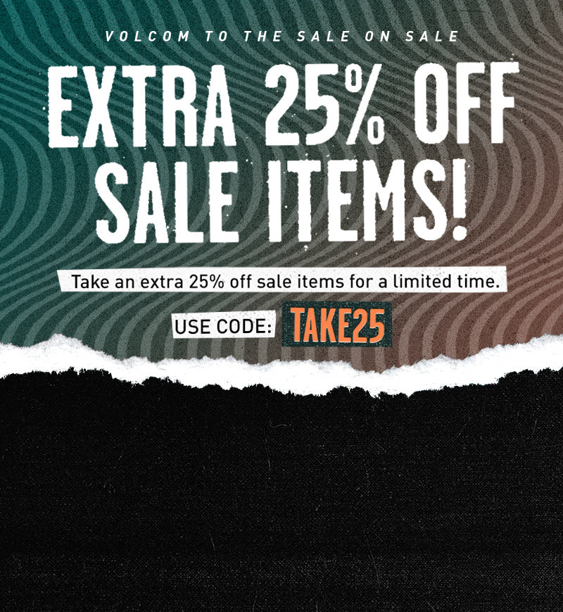 Extra 25% off Sale Items.  Use Code: Take25
