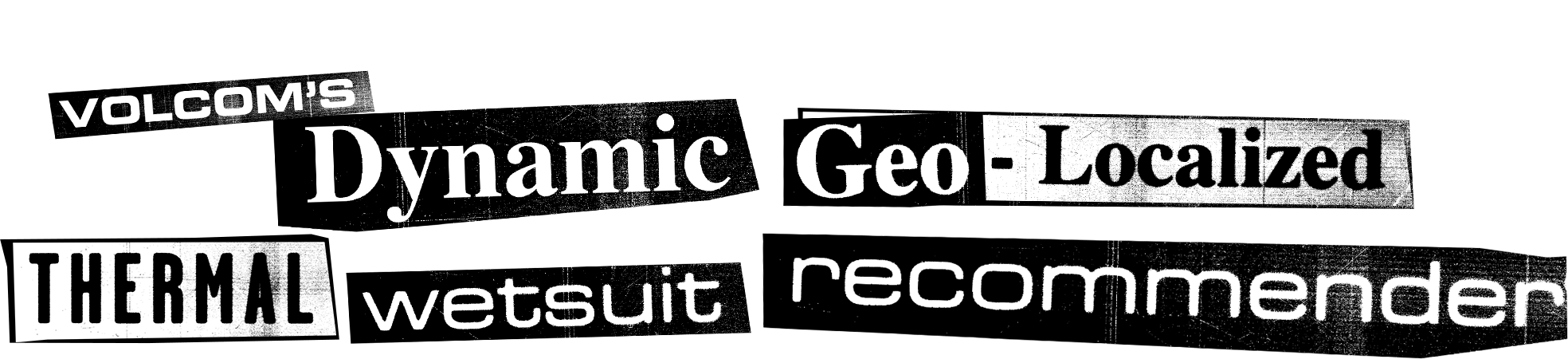 volcom's dynamic geo-localized thermo wetsuit recommender