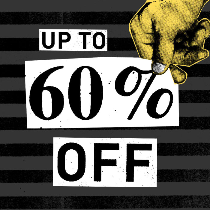 Deals up to 60% off