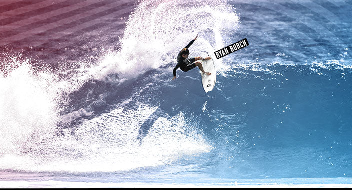 Volcom Pro Rider, Ryan Burch, surfing.