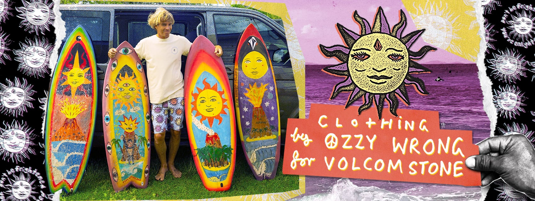 clothing by ozzy wrong for volcom stone