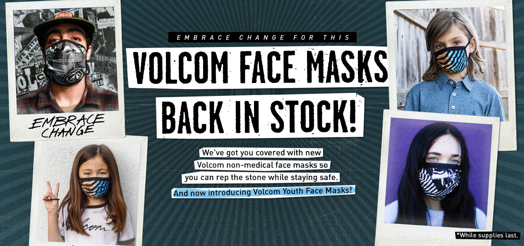 Volcom Face Masks
